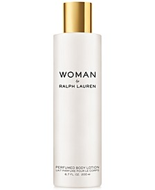 Woman By Ralph Lauren Perfumed Body Lotion, 6.7 oz.