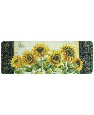 "French Sunflower 20"" x 55"" Runner Rug"