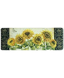"Bacova French Sunflower 20"" x 55"" Runner Rug"