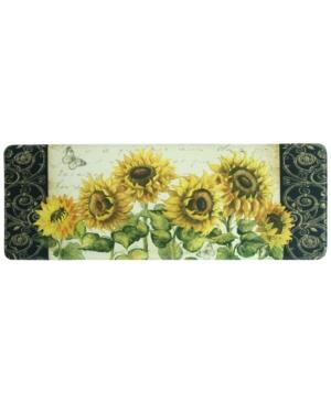 Bacova French Sunflower 20 x 55 Runner Rug Bedding