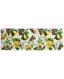 """Bacova Botanical Fruit 20"""" x 55"""" Runner Rug"""