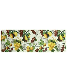 "Bacova Botanical Fruit 20"" x 55"" Runner Rug"