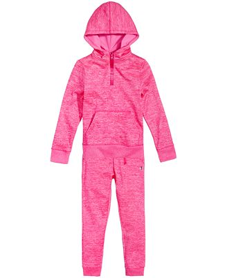 Champion Space-Dye Hoodie & Jogger Pants Separates, Toddler Girls & Little Girls
