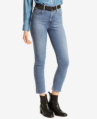 Levi's® Mile High Cropped Skinny Jeans - Jeans - Women - Macy's