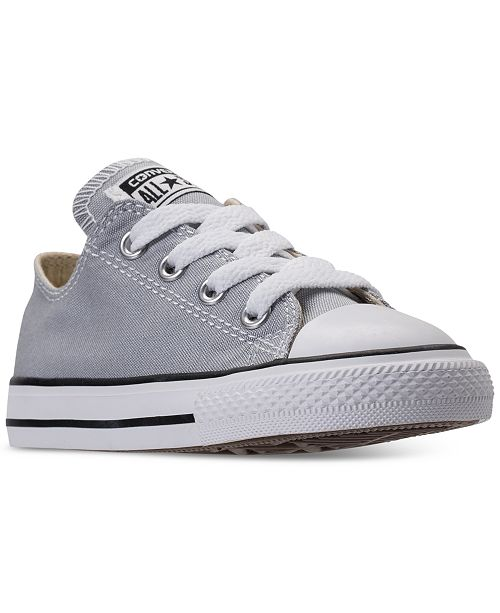 ... Converse Toddler Boys  Chuck Taylor All Star Ox Casual Sneakers from  Finish ... 1b3ddae41
