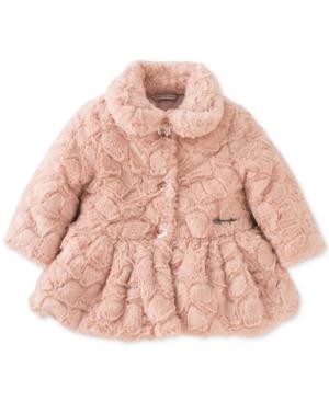 Calvin Klein FauxFur Peplum Coat Baby Girls (024 months)