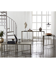 CLOSEOUT! Grayson Metal Table Furniture Collection