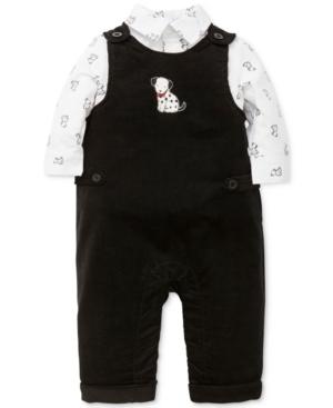 Little Me 2Pc DalmatianPrint Shirt  Overalls Set Baby Boys (024 months)
