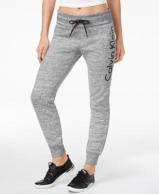 Calvin Klein Performance Fleece Logo Joggers, Created for Macy's
