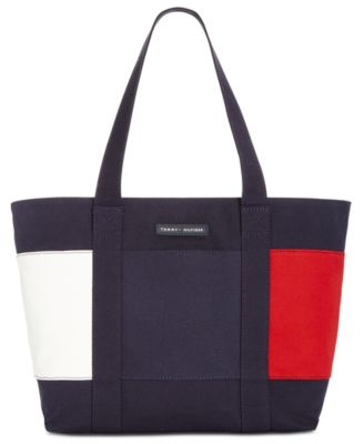 tommy hilfiger tote purse