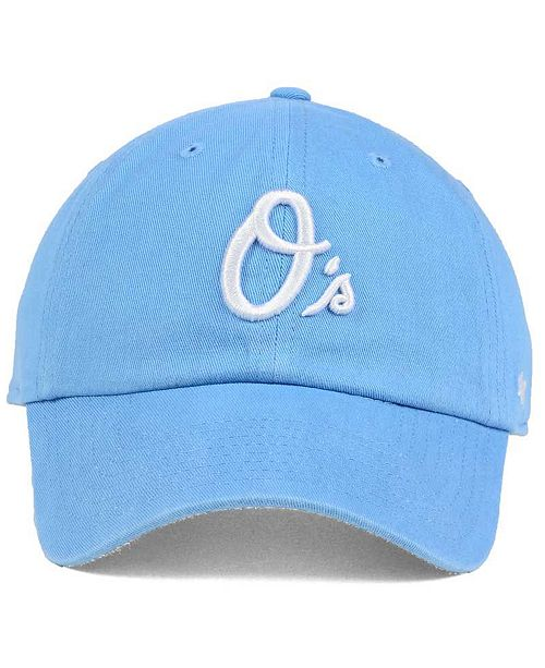 quality design 88d86 c34d8 ... 039 65759 410ef discount 47 brand womens baltimore orioles powder blue  white clean up cap sports fan shop by cheap new ...