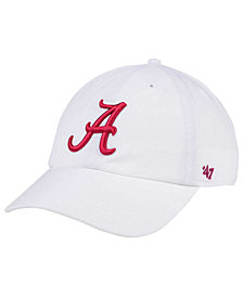 '47 Brand Alabama Crimson Tide CLEAN UP Cap
