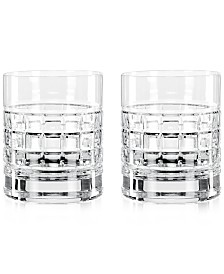 Waterford London Double Old Fashioned Glass Pair