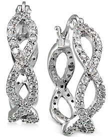 jewellery earrings sterling medium diamond silver product buy ag cid