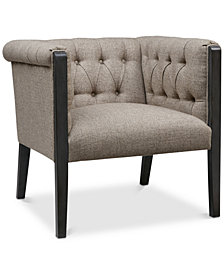 Evette Accent Chair, Quick Ship