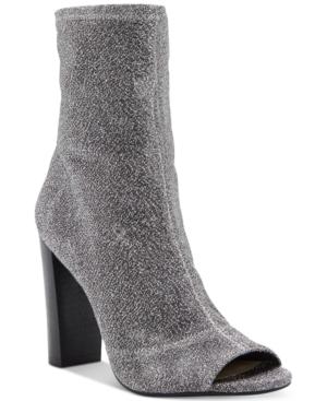 Jessica Simpson Elara Block-Heel Booties Women