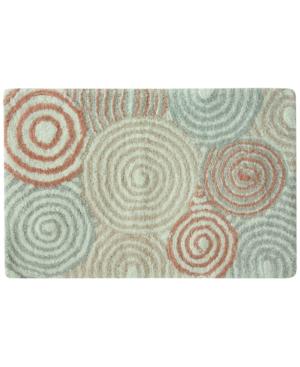 Bacova Galaxy Cotton 20 x 30 Spiral Accent Rug Bedding