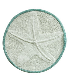 "Bacova Starfish Cotton 25"" Round Accent Rug"
