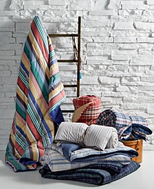 Yarn-Dyed Down-Alternative Comforters