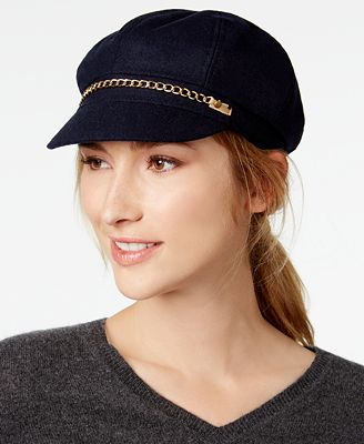 August Hats Chain-Link Newsboy Cap