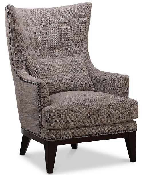 Furniture Roselake Fabric Accent Chair Amp Ottoman Set