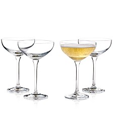 Hotel Collection Coupe Cocktail Glass, Set of 4, Created for Macy's