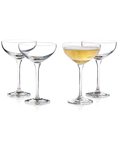 Hotel Collection Coupe Cocktail Glass Set Of 4 Created For