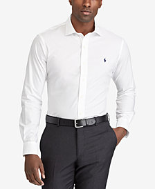 Polo Ralph Lauren Men's Big & Tall Wrinkle Resistant Poplin Shirt