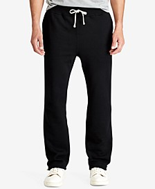Men's Big & Tall Cotton-Blend-Fleece Pants