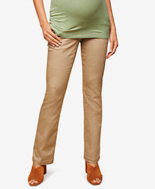 Motherhood Maternity Twill Boot-Cut Pants