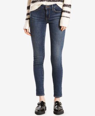 "LeviРІС'в""ўsРІВ® mid rise skinny cropped jeans"