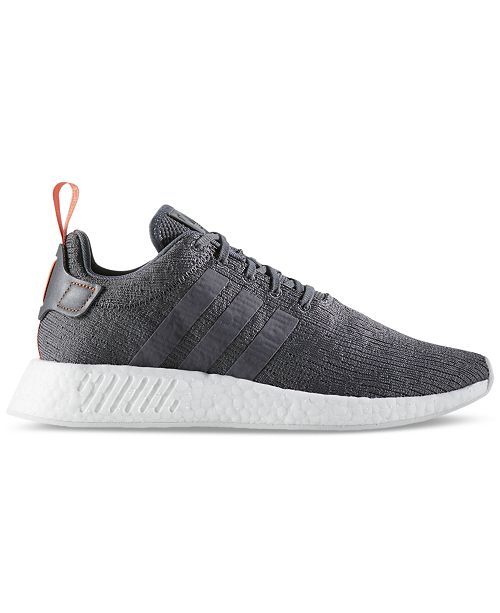 ba5c944587b38 adidas Men s NMD R2 Casual Sneakers from Finish Line   Reviews ...