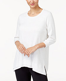 Style & Co Layered-Hem Top, Created for Macy's