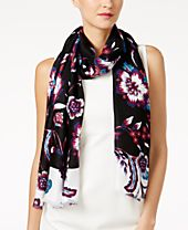 INC International Concepts Floral Wrap & Scarf in One, Created for Macy's