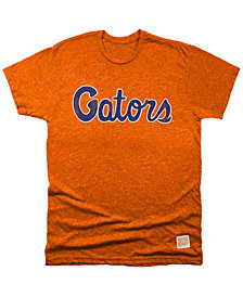 Retro Brand Men's Florida Gators Retro Mock Twist Team Logo T-Shirt