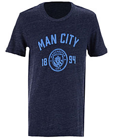Outerstuff' Manchester City Club Team Believe Tri-blend T-Shirt, Big Boys (8-20)