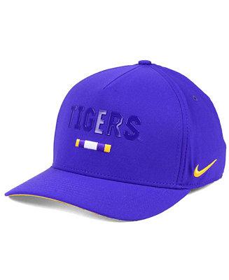 838ede10a64 Nike LSU Tigers Summer Seasonal Swoosh Flex Cap - Sports Fan Shop By Lids -  Men - Macy s