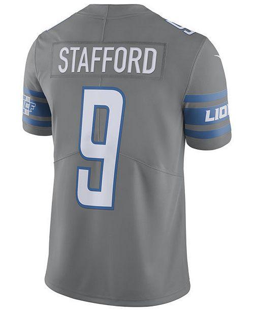 c6c3ecf4 Men's Matthew Stafford Detroit Lions Limited Color Rush Jersey