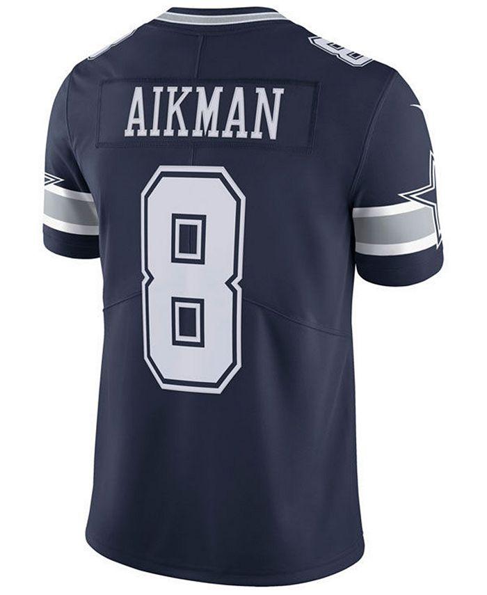 Nike Men's Troy Aikman Dallas Cowboys Vapor Untouchable Limited ...