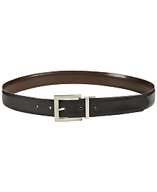 Calvin Klein Smooth Plus-Size Reversible Pant Belt