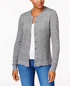 Karen Scott Button-Down Cardigan, Created for Macy's