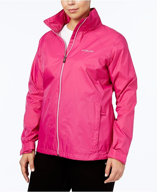 bb2017947a1da ... Jacket  Columbia Plus Size Switchback II Omni-Shield trade   Water-Repellent ...