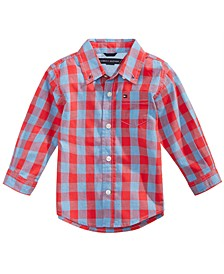 Cotton Kirk Plaid Shirt, Baby Boys