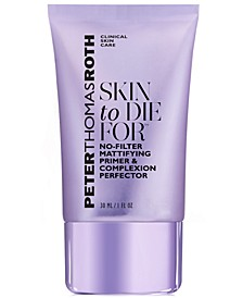 Skin To Die For No-Filter Mattifying Primer