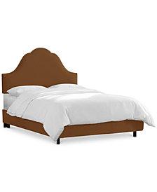Jenny California King Nail Button Bed, Quick Ship
