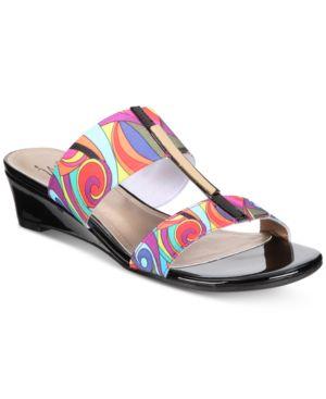 Impo Raziel Stretch Wedge Sandals Women