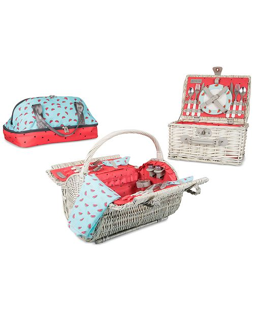 Picnic Time Watermelon Basket Collection