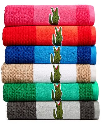 Bath rugs, bath towels, bath matts and more croc inspired home products from Lacoste are here. Free shipping on orders over $ Bath rugs, bath towels, bath matts and more croc inspired home products from Lacoste are here. Free shipping on orders over $ LIFE IS A BEAUTIFUL SPORT What's New. Home. Men's Sale: Up to 50% off. UP TO 30% OFF.