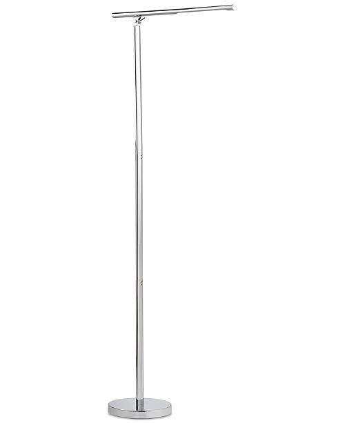 Kathy Ireland Pacific Coast Spectrum LED Adjustable Task Floor Lamp