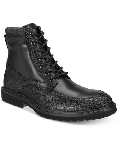 Alfani Men's Patrick Moc-Toe Utility Boots Created for Macy's